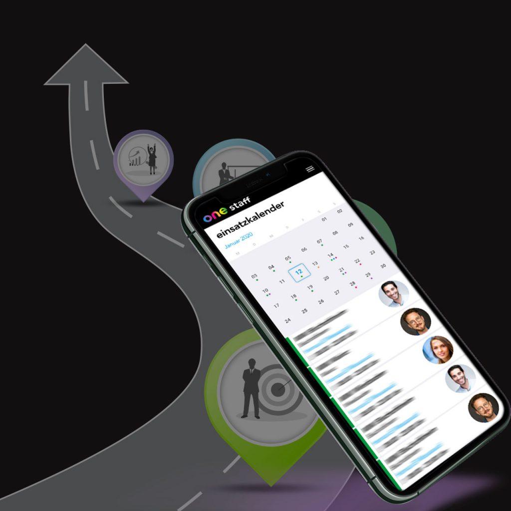 one staff - promotion web-app